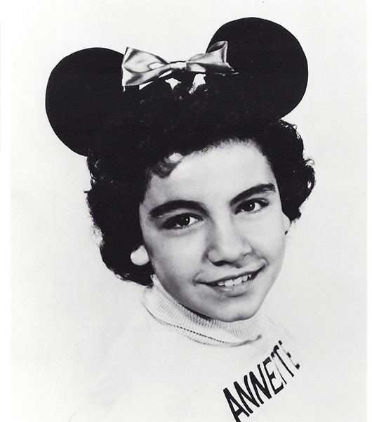 Photo of Mouseketeer Annette Funicello in the Mickey Mouse Club