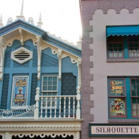 Rolly Crump and Don Edgren Enshrined on Disneyland Main Street, U.S.A.