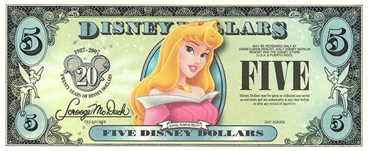 picture regarding Disney Dollars Printable called Celebrating Disney Money: Forex with Persona - D23