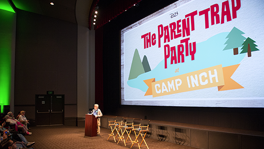 D23 Members Celebrate The Parent Trap with a Party at Camp Inch