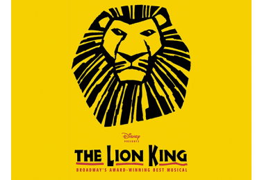 illustrated poster art from The Lion King