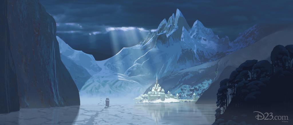 Ice Castle in Frozen