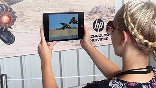Augmented Reality with HP Aurasma