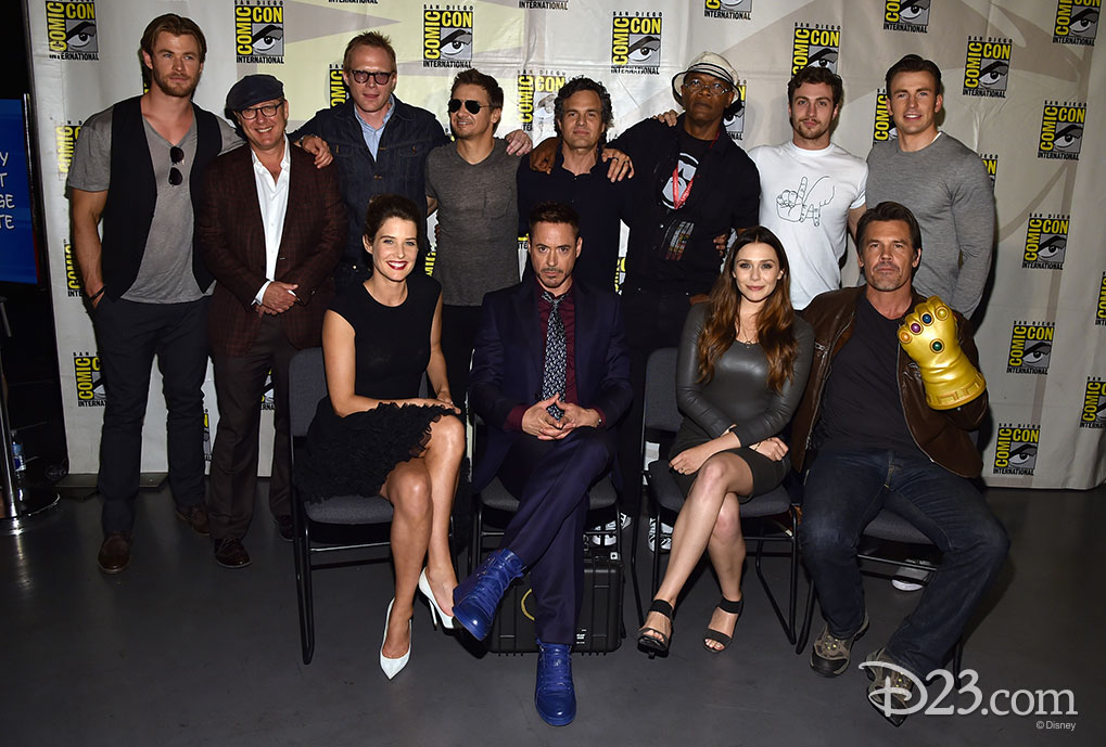 Marvel Avengers Cast at Comic Con