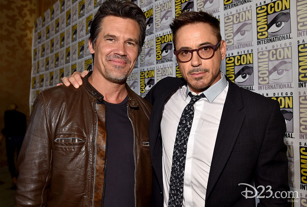 Robert Downey, Jr. at Comic Con