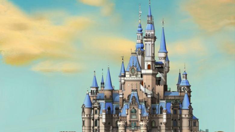 Innovative Design of Enchanted Storybook Castle at Shanghai Disneyland