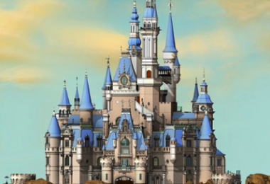 Shanghai Disneyland's Enchanted Storybook Castle