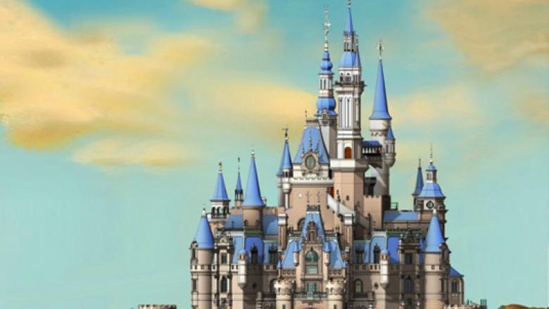 Shanghai Disneyland's Enchanted Storybook Castle