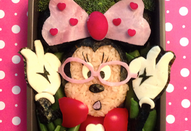 Minnie Mouse bento box