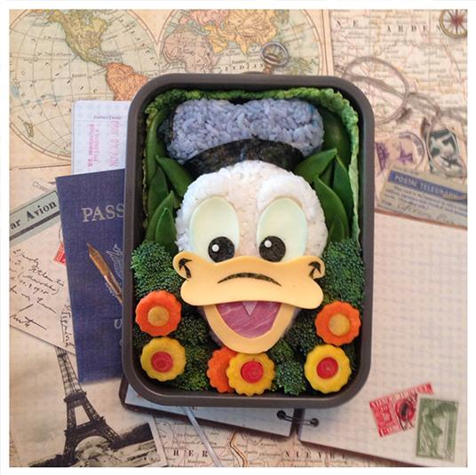 Donald Duck Bento Box