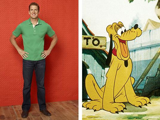 Regan Burns went for the Disney classic, Pluto