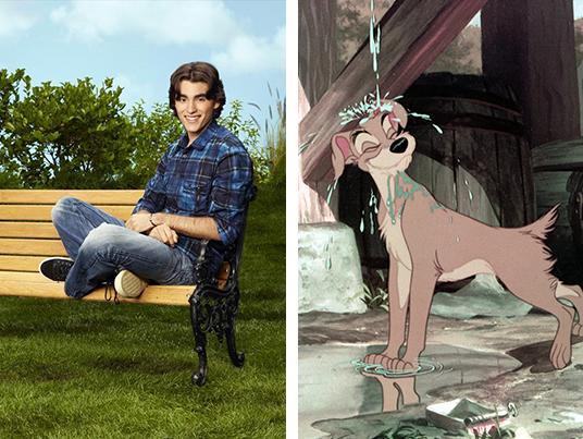 Blake Michael says his favorite Disney dog is Tramp