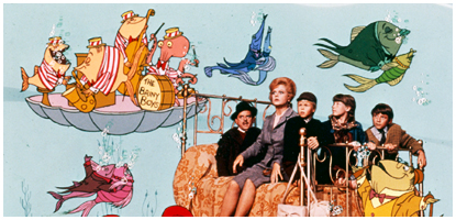 Scene from Bedknobs and Broomsticks