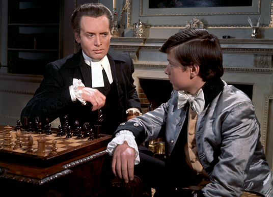 Patrick McGoohan and John Banks