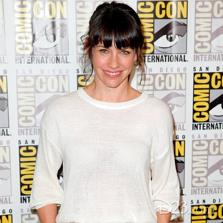 Evangeline Lilly at Comic Con