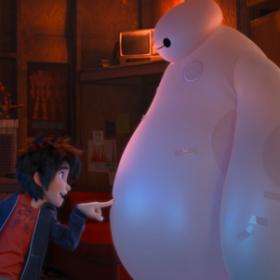 Hiro and Baymax in Big Hero 6