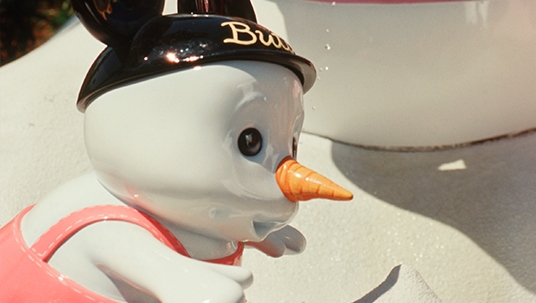 baby snowman Walt Disney World Blizzard Beach