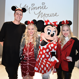 Minnie Mouse at Fashion Week
