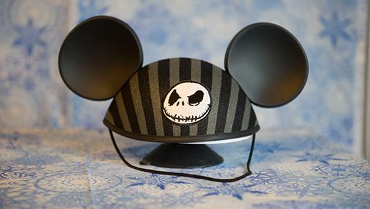 Walt Disney Nightmare Before Christmas Mouseketeer Hat