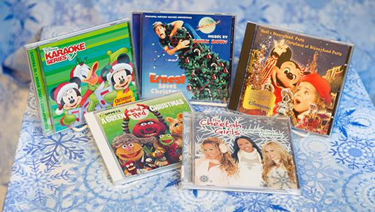 Photos of Disney Holiday Album Covers