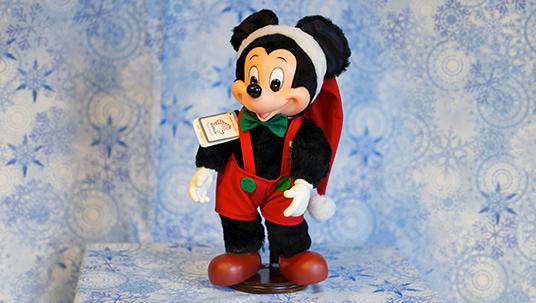 Walt Disney Mickey Mouse Christmas Plush Toy