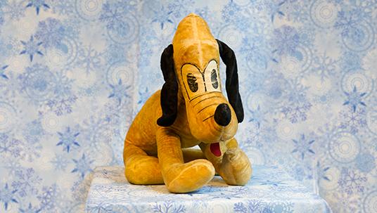 Large Pluto plush doll