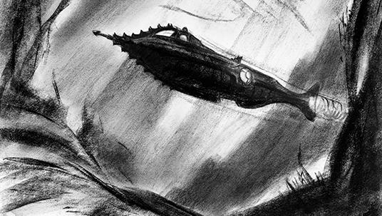 20,000 Leagues Under the Sea Concept Art