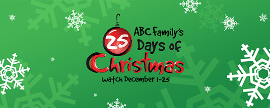 How Many Days Of Christmas Are There.Tune In To Abc Family S 25 Days Of Christmas Programming