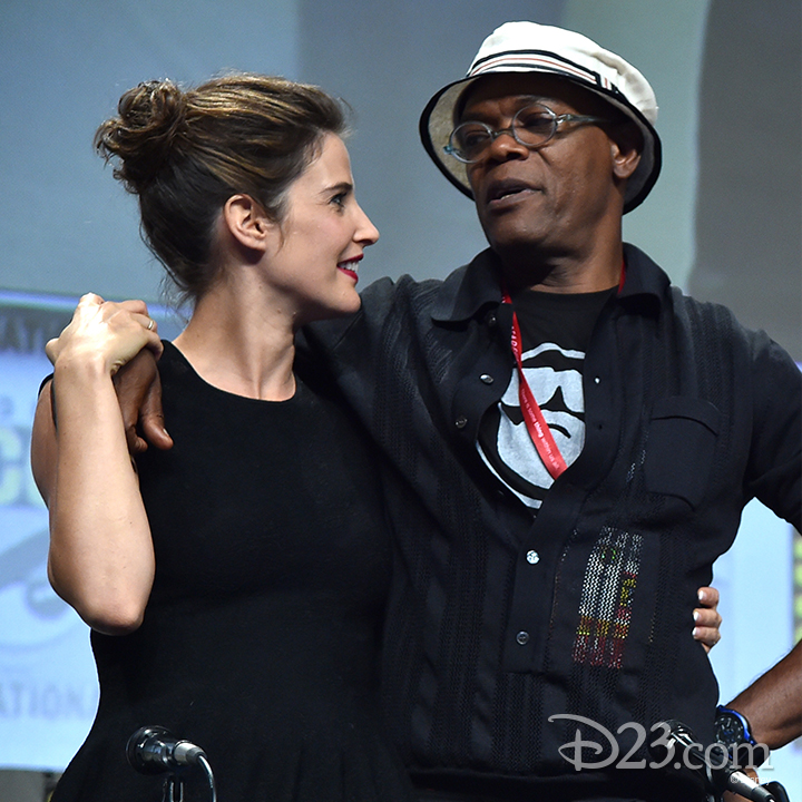Samuel L. Jackson at Comic Con