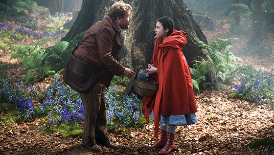 Little Red Riding Hood and The Baker from Into the Woods