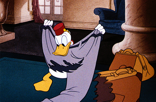 Donald Duck as a Hotel Bellboy (Bellboy Donald, 1942)