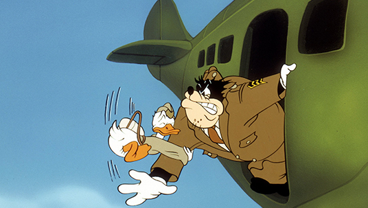 Donald Duck as a Paratrooper (Sky Trooper, 1942)