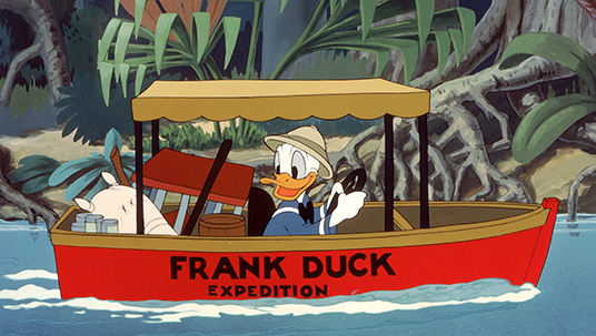 Donald Duck as a Explorer (Frank Duck Brings Em' Back Alive, 1942)