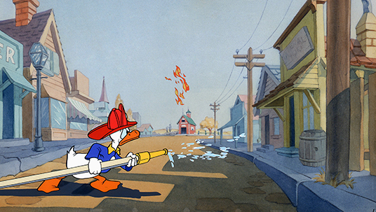 Donald Duck as a Fire Chief (Fire Chief, 1941)