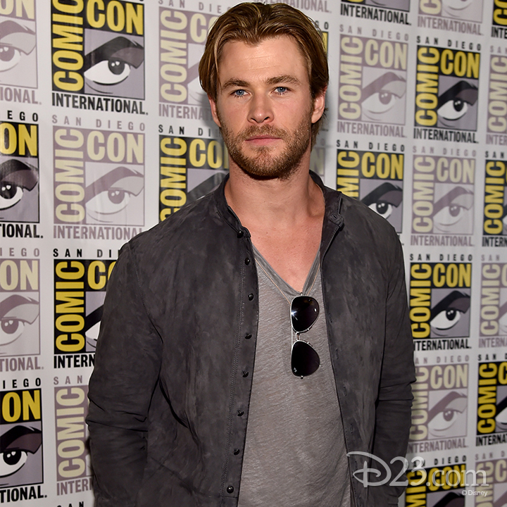 Chris Hemsworth at Comic Con 2014