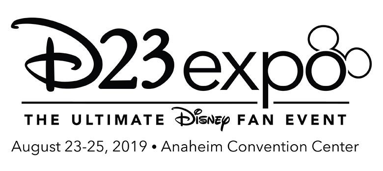 D23 Expo 2019 logo banner