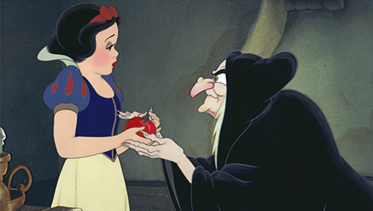 First full-length animated feature, Snow White and the Seven Dwarfs.