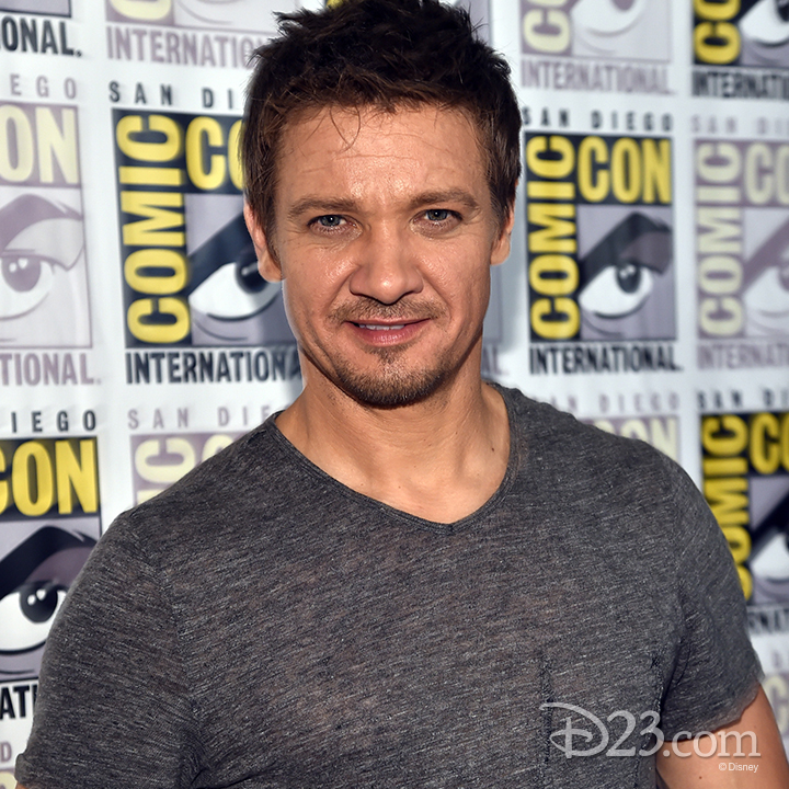 Jeremy Renner at Comic Con
