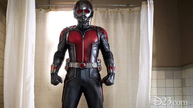 Photo of Paul Rudd as Marvel's Ant-Man