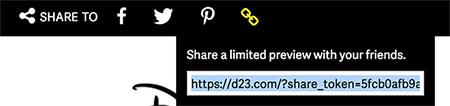 D23.com Share Link