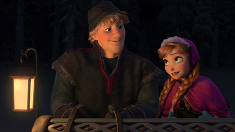 Anna and Kristoff (Frozen)