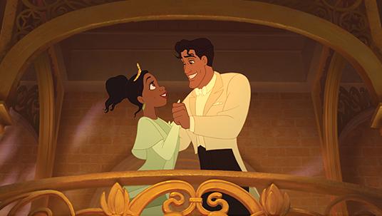 Tiana and Naveen (The Princess and the Frog)