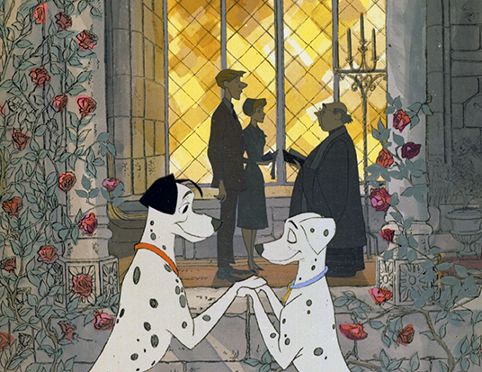 Pongo and Perdita (One Hundred and One Dalmatians)