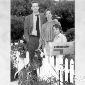 Cast of Tim Burton's 1984 film Frankenweenie