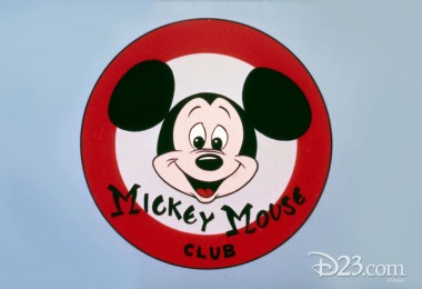 Mickey Mouse Club Logo with Mickey Mouse