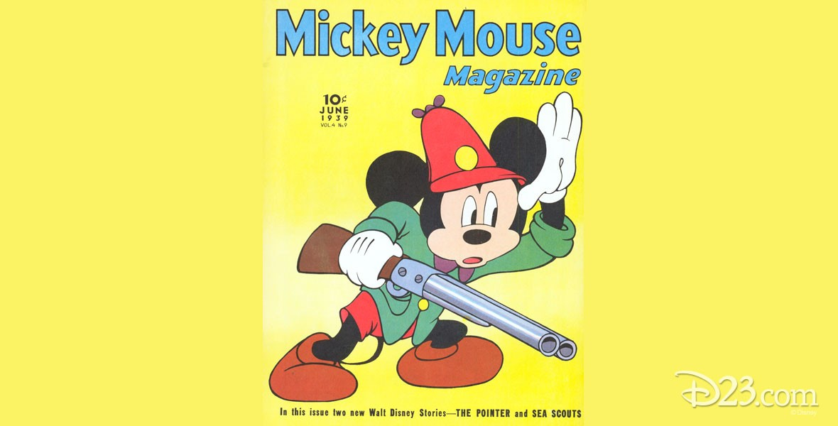 Photo of Mickey Mouse Magazine Cover