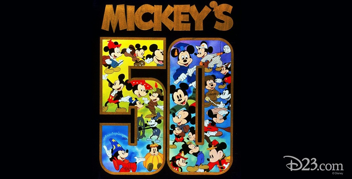 Photo of Mickey Mouse's 50th Anniverssary