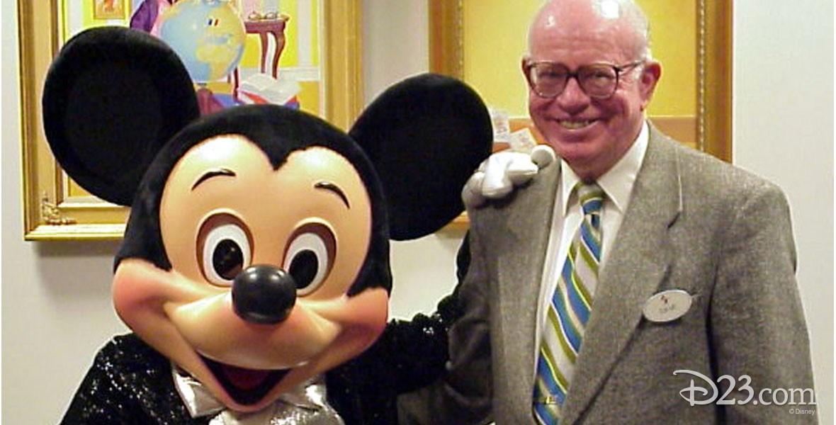 Dave Smith and Mickey Mouse