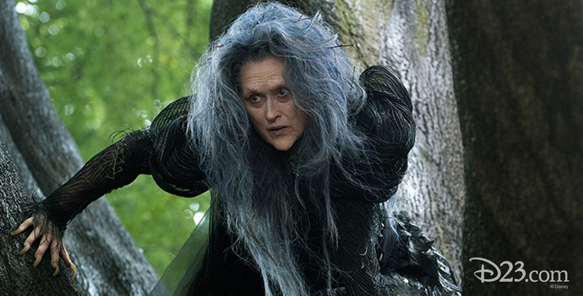 Meryl Streep in Disney Film Into the Woods