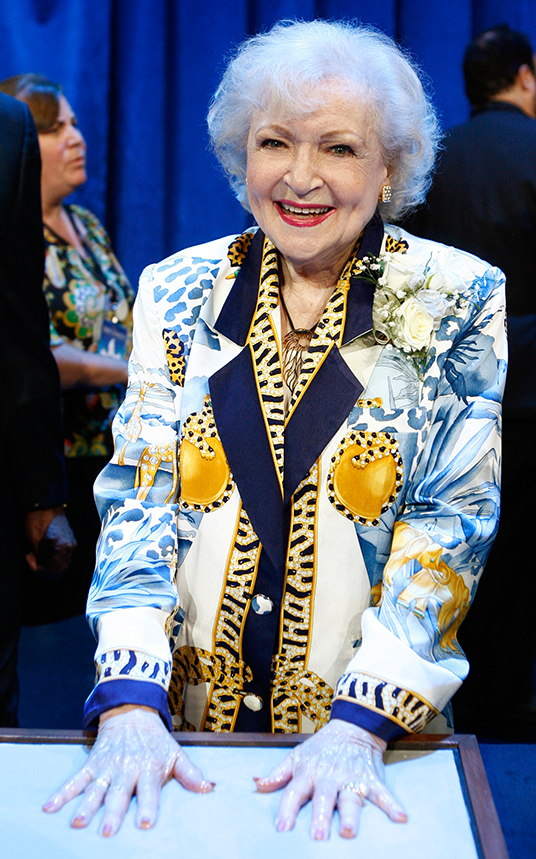 Betty White at Legends (2009)